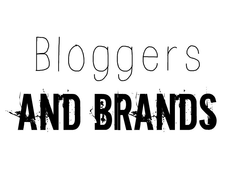 bloggers and brands