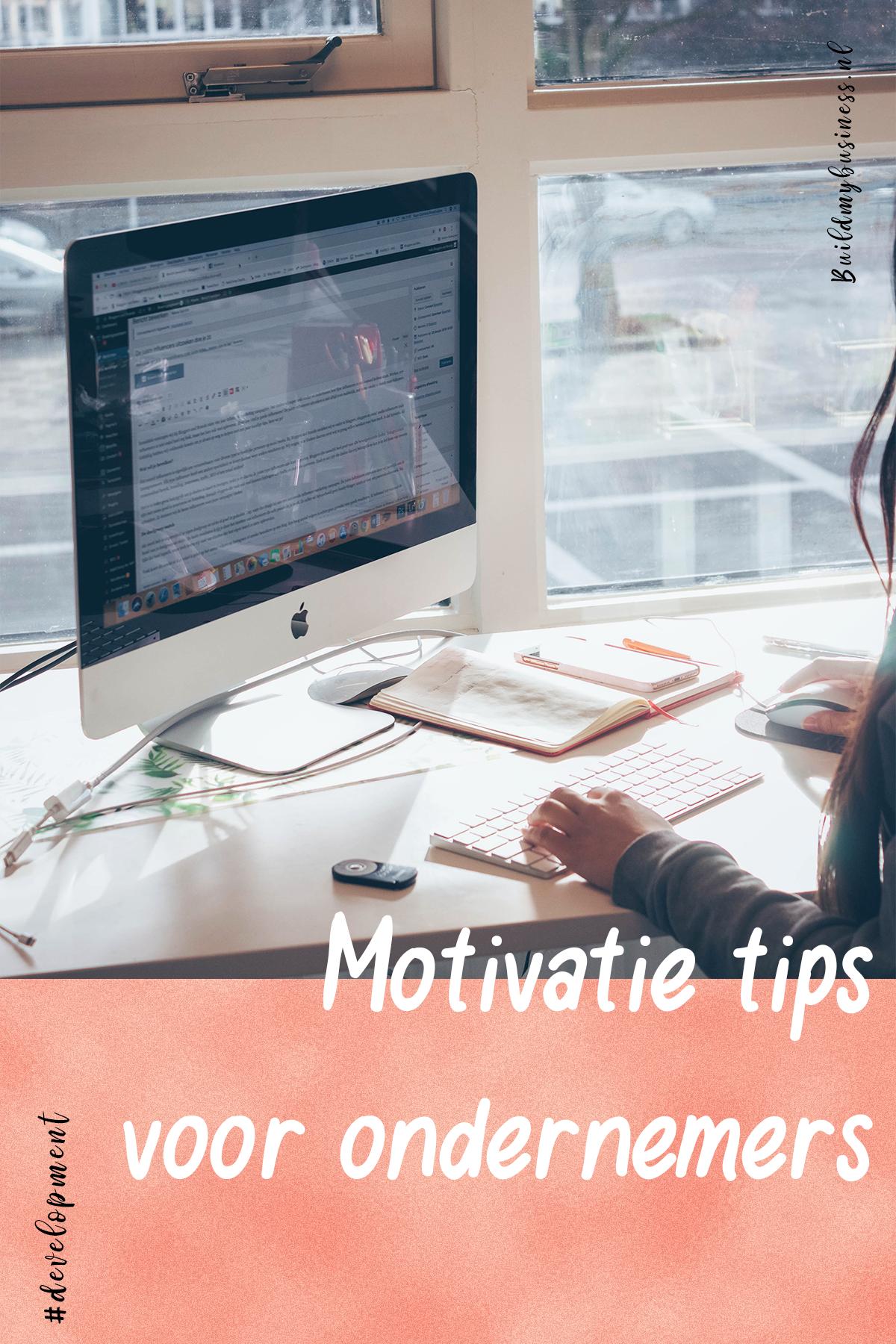 Motivatie voor ondernemers